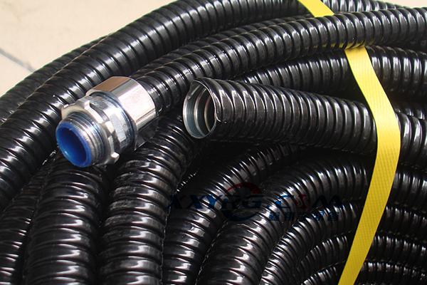 用于保护电线电缆包塑金属软管