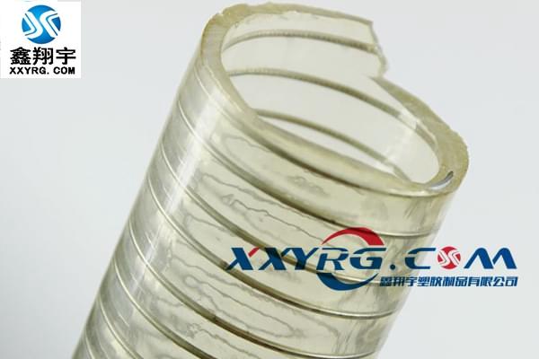 XY-0304食品级 PU透明钢丝软管